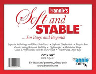 ByAnnie's Soft and Stable 100% Polyester Stabilizer 72in x 58in Black