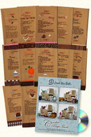 Chocolate Recipe Towels with CD
