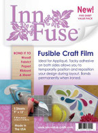 InnFuse Fusible Craft Film - 9 in x 12 in Sheets 5/pkg