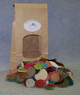 Wool Pennies 1-1/2in & 1in 200/bag