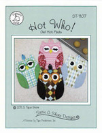 Hot Who! Owl Hot Pads