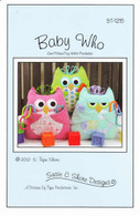 Baby Who Owl Pillow / Toy with Pockets