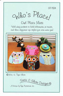 Who's Place! Owl Placemats