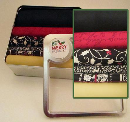 Be Merry Fabric Kit
