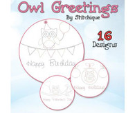 Owl Greetings with CD