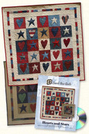 Hearts and Stars with CD