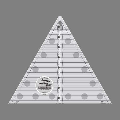 60 degree Triangle 8 1/2in