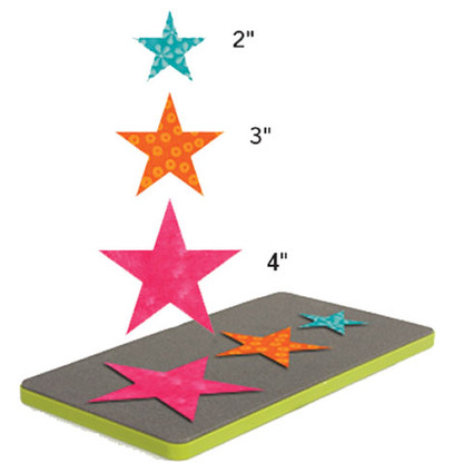 AccuQuilt GO! Star - 2in, 3in, and 4in