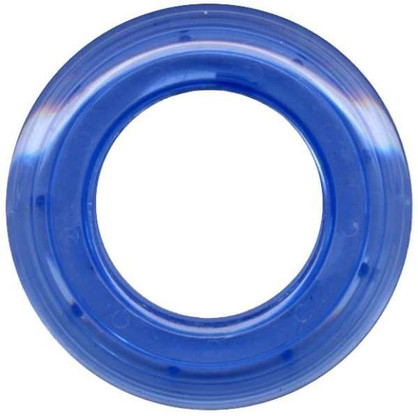 Grommets 40mm Round 8/pkg Clear Blue