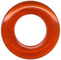Grommets 40mm Round 8/pkg Clear Orange