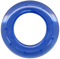 Grommets 25mm Round 8/pkg Clear Blue