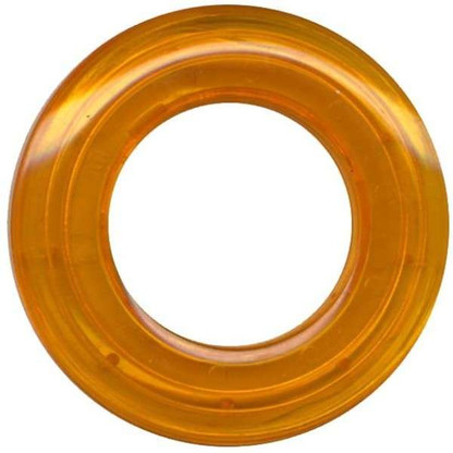 Grommets 25mm Round 8/pkg Clear Marigold