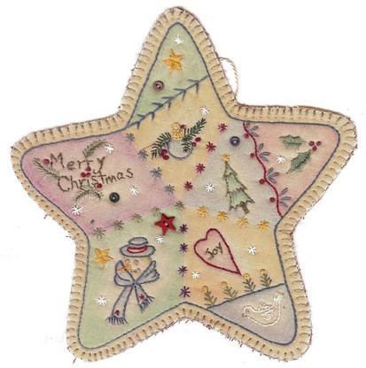 Vintage Ornaments Christmas - Star