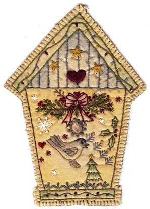 Vintage Ornaments Christmas - Birdhouse