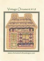 Vintage Ornaments Christmas - Quilt Shop