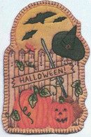 Vintage Ornaments Autumn - Halloween