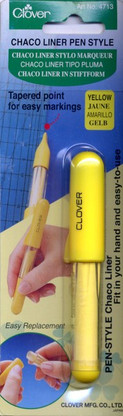 Chaco Liner Pen Style Yellow