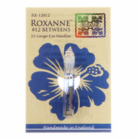Roxanne Between Quilting Needle Size 12 50ct