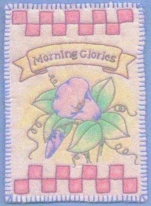 Heirloom Ornament - Morning Glories