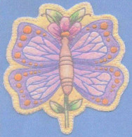 Heirloom Ornament - Butterfly Flower