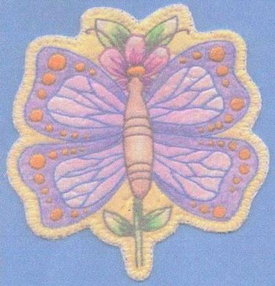 Heirloom Ornament - Butterfly Flower