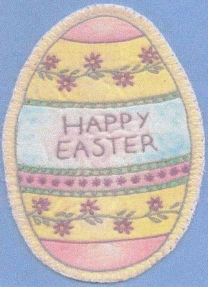 Heirloom Ornament - Happy Easter Egg