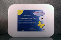 Placemat Craft Pack 13in x 18in 4/pkg Rectangle