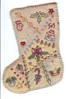 Vintage Ornaments Christmas - Stocking