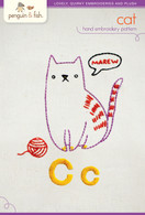 C Cat Hand Embroidery