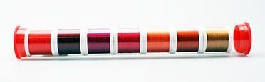YLI Silk #100 Sew Red Silk Thread Assortment