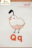 Q Quail Hand Embroidery