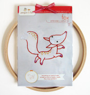 Fox Hand Embroidery Kit
