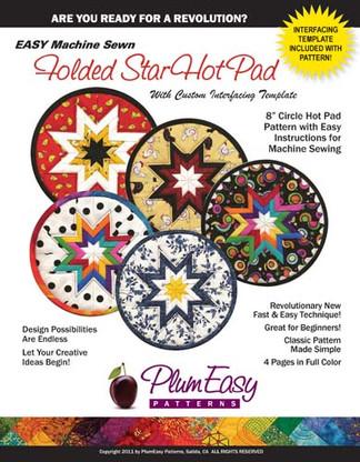 Folded Star Hot Pad