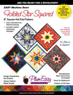 Folded Star Squared Hot Pad