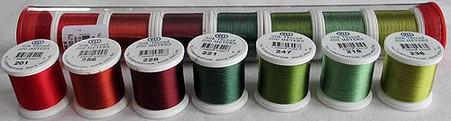 YLI Silk #100 Classic Applique Set Elly Sienkiewicz Thread Assortment