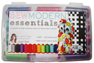 Aurifil Cotton 12 wt 12 Large Spools Angela Yosten Sew Modern Essentials Thread Collection