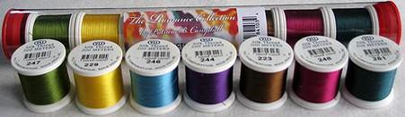 YLI Silk #100 Romance Collection No.3 Patricia Campbell Thread Assortment