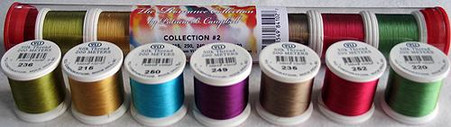 YLI Silk #100 Romance Collection No.2 Patricia Campbell Thread Assortment