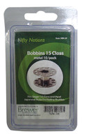 Bobbins 15 Class Metal 10/pkg