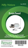 Even Feed Foot Singer 221