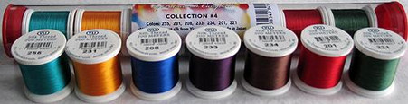 YLI Silk #100 Romance Collection No. 4 Patricia Campbell Thread Assortment