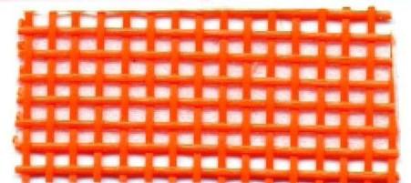 Vinyl Mesh Roll 18in x 36in Orange