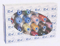 Rayon Embroidery Thread Set Top 24 Colors