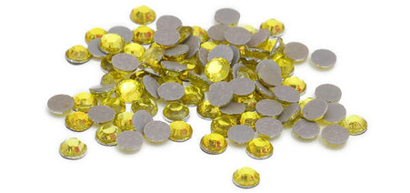 Silhouette Crystal 5mm 200/pkg Citrine Yellow