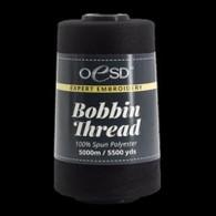 OESD Bobbin Thread Polyester 6000yd Black