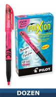 Frixion Erasable Highlighter 12/pkg Pink