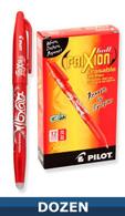 Frixion Erasable Gel Pen 12/pkg Red 0.7mm