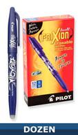 Frixion Erasable Gel Pen 12/pkg Blue 0.7mm