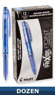 Frixion XF Erasable Gel Pen 12/pkg Blue .05mm