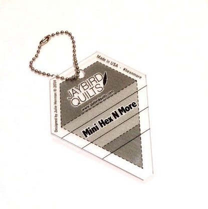Mini Hex N More Ruler Keychain